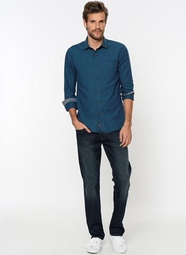 Mavi Jean Pantolon | Marcus - Slim Lacivert